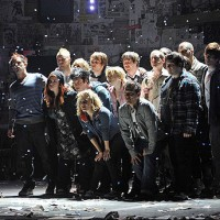 Green Day And The Cast Of 'american Idiot'