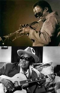 John Lee Hooker & Miles Davis